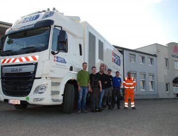 Neue Revisionsanlage für Schlauchlinertechnologie der RTi Austria
