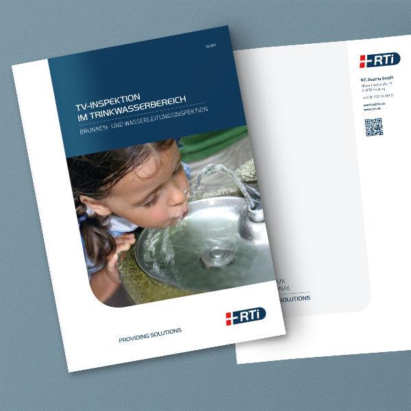 Mockup brochure TV Inspektion Trinkwasser