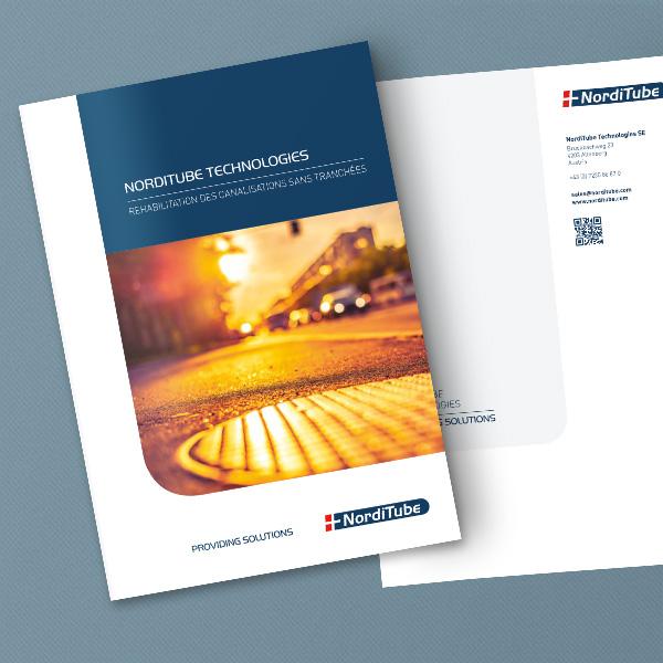 Norditube Brochure Mockup