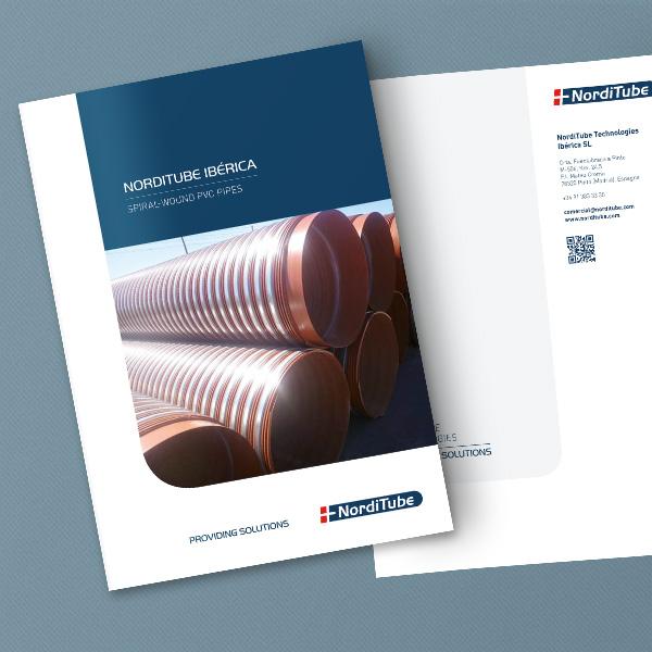 Norditube Iberica Brochure Mockup