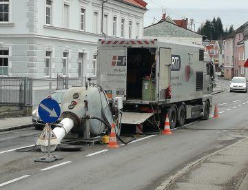 Grabenlose Rohrsanierung In Mauerkirchen