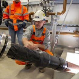 Lagerstättenwasserleitung erfolgreich von RTi erneuert