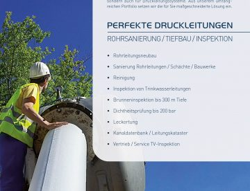 Perfekte Druckleitungen mit RTi Austria