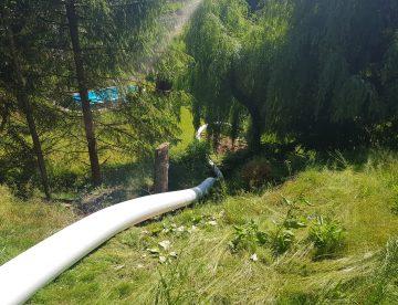 Sanierung Von Einer Rohrleitung An Einer Sehr Schwer Zugänglichen Stelle 1